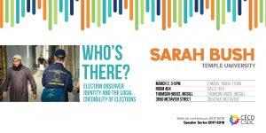 Séries de conférences: Sarah Bush @ Salle 404, Thomson House, Université McGill | Montreal | Quebec | Canada