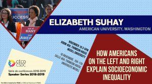 Série de Conférences: Elizabeth Suhay @ Salle 404 - Thomson House | Montréal | Québec | Canada
