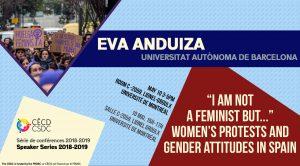 Série de Conférences: Eva Anduiza @ Salle C-2059, Pavillon Lionel-Groulx, Université de Montréal   Montreal   Quebec   Canada