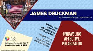 Série de Conférences: James Druckman @ Salle C-6070-9, Pavillon Lionel Groulx - Université de Montréal | Montréal | Québec | Canada