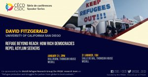 Série de Conférences - David Fitzgerald @ Salle de bal, Thomson House, McGill