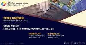 Série de Conférences - Peter Dinesen @ Salle 404, Thomson House, McGill