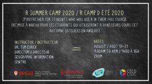 [Séminaire métho] R Camp d'été 2020 @ Zoom