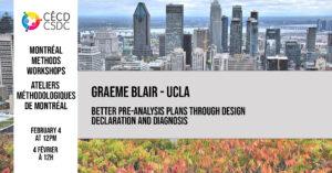 Ateliers méthodologiques de Montréal - Graeme Blair