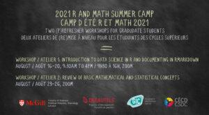 [Séminaire métho] Camp d'été R et Math 2021
