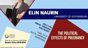 Speaker Series: Elin Naurin @ Room 404 - Thomson House   Montréal   Québec   Canada