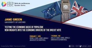 Speaker Series - Jane Green @ Room C-2059, Lionel Groulx, UdeM