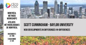 Montreal Methods Workshop - Scott Cunningham