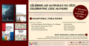 Celebrating CSDC authors