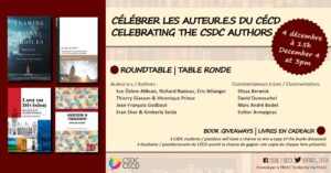 Celebrating the CSDC authors