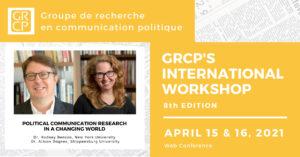 8th GRCP International Workshop